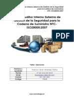 Taller Curso Auditor Interno ECCI Norma Iso 28000