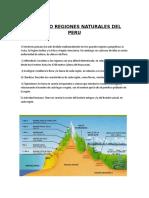 Las Ocho Regiones Naturales Del Peru (Autoguardado)