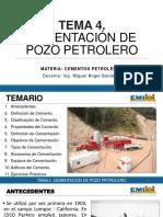 Cementación de Pozo Petrolero