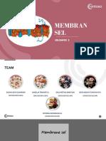 Membran Sel Kel 3, ITP 1-E Revisi