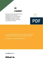 CoCreate Basics Document