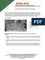 Safety Retracting Lifeline Blocks and Rotating Machinery
