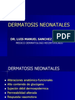 DERMATOSIS NEONATALES