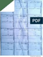 Metric Paper Sheet