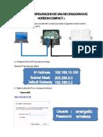 Manual de Configuracion de Una Dragonwave Horizon Compact