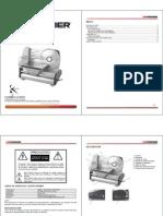 Manual de Instrucciones Cortadora Fiambre Premier MSL-3183.sp
