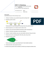 Soal Ulangan - Ulangan Harian IV Struktur Tubuh Tumbuhan