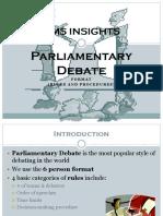 Parliamentary Debate RULES! Updated