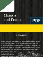 Chasis and Bastidor