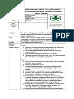 8.1.3.2 Sop Hasil Pemantauan Waktu Penyampaian Hasil Pemeriksaan Laboratorium Untuk Pasien Urgen