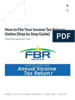 How to File Your Income Tax Returns Online [Step by Step Guide]