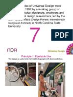 7 Prinsip Universal Desain