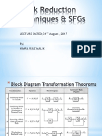Block Reduction Techniques