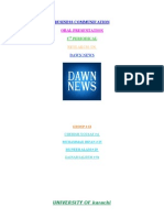 Dawn News Television Channel in English Language