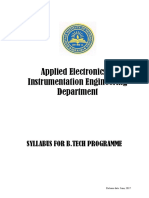 Aeie All 4 Year Syllabus