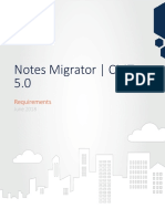Notes Migrator 5.0 Requirements