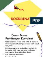 3. Koordinat