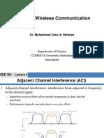 Traffic Theory - Wireless Communication Systems