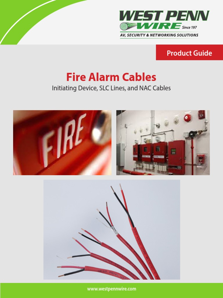 18375 FireAlarm Product Guide | Coaxial Cable | Electricity