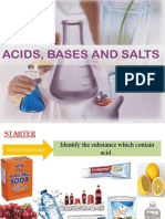 Acid Bases and Salts
