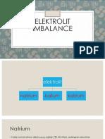Elektrolit Imbalance