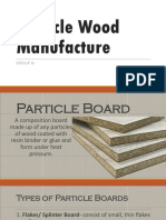 Particle Wood Manufacture