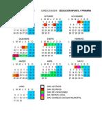 Calendario Escolar 2018 2019 Infantil y Primaria