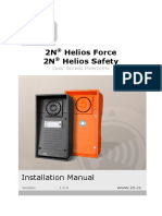 2N Helios Analog Force and Safety - Installation Manual EN1905 v1.0.0.5