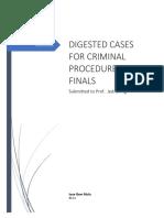 Digests for Crim Pro-finals