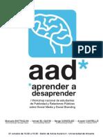 AAD workshop programa