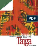 Catálogo da 18.ª Exposição da Galeria d'Arte Ortopóvoa - Pintura de Margarida Oliveira