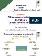 Tema 7 Procesamiento y Presentacion de Resultados