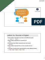 Spoken English 1