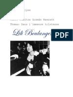 Musik Analyse Lili Boulanger
