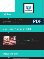 Alpina, una empresa con Responsabilidad Social