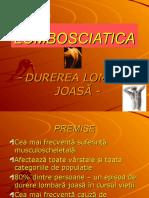 Violeta B -LOMBOSCIATICA