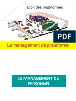 Management de Plateforme