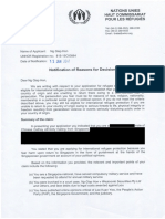 Notification of Reasons for Decision-page 1