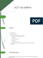 ACV Du Béton