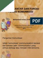 Fungsi Komunikasi