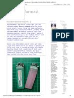Berbagi Informasi_ Cara Membuat Miniatur Motor Dari Korek API