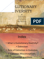 Evolutionary Diversity