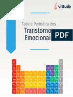 Tabela Periódica dos transtornos Emocionais