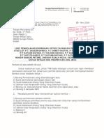 Tnb Letter