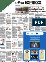 Indian Express 09 Nov 2018 Delhi