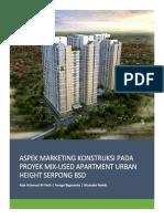 Marketing Proyek Urban Height Residences
