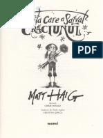 Fetita Care a Salvat Craciunul - Matt Haig