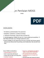 Elemen Penilaian MDGS