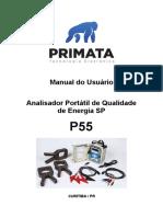 Manual P55 SP - Analisador Portátil de Qualidade de Energia