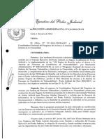 Directiva Nº 006-2016-Ce-pj Sistema de Alerta Judicial Para Adultos Mayores